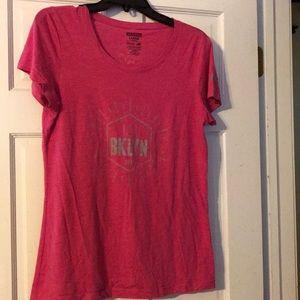 Women's fitted new balance NY  marathon tshirt